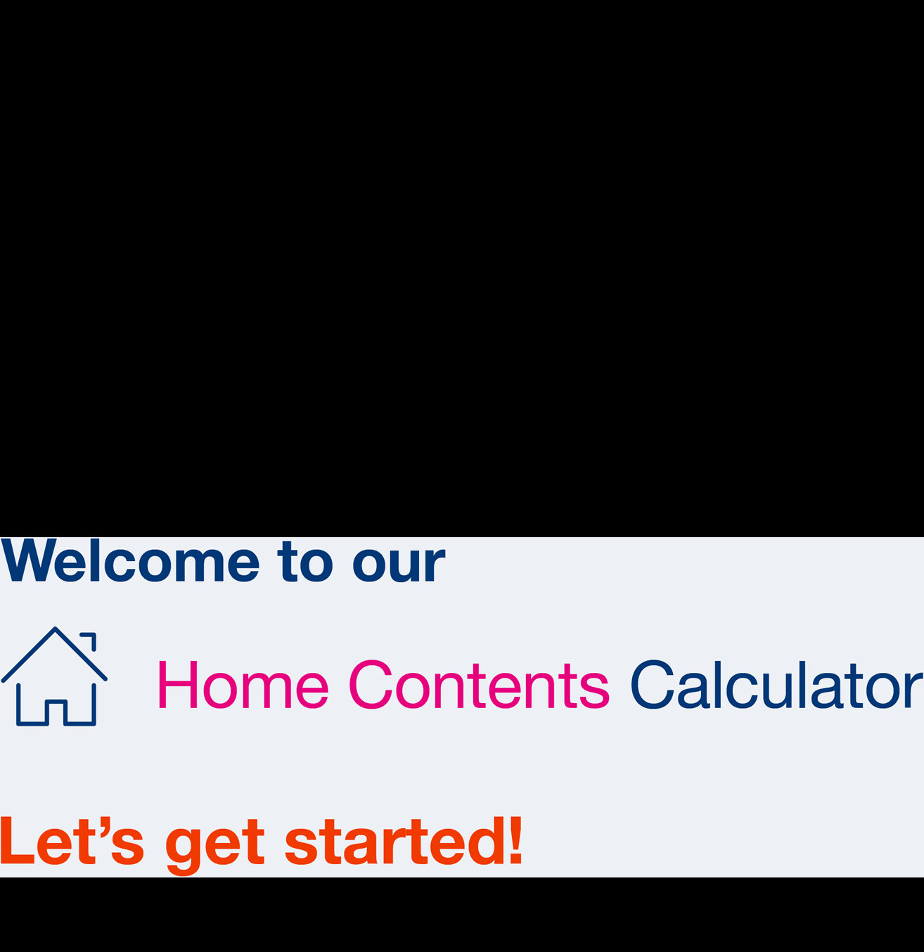 contents insurance calculator